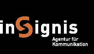 insignis Logo invertiert